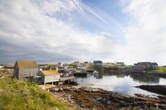 Peggys liten vik Nova Scotia Arkivfoto