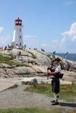 Peggys liten vik, Nova Scotia Arkivbild