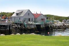 Peggys liten vik, Nova Scotia Arkivbilder