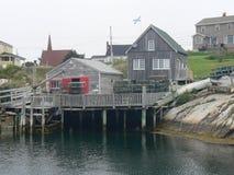 Peggys liten vik Nova Scotia Arkivfoton