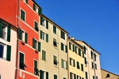 Pegli,热那亚,意大利 免版税库存图片