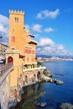 Pegli,热那亚,意大利 免版税图库摄影