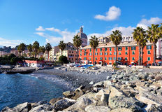 Pegli, Генуя, Италия стоковое фото