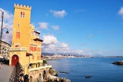 Pegli, Генуя, Италия стоковое фото rf