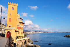 Pegli, genoa, italy. Mediterranean village Royalty Free Stock Photo