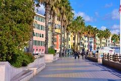 Pegli, Genova, Italia fotografie stock