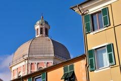 Pegli Genua, Italien arkivbilder