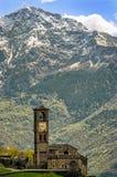 Peglio (Lago di Como) Chiesa di S. Eusebio Royalty Free Stock Image