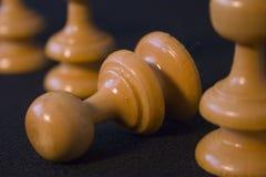 Pegni di scacchi Immagine Stock