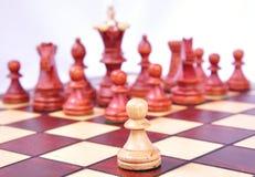 Pegno di scacchi Immagine Stock