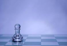 Pegno di scacchi fotografia stock