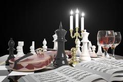 Pegno dorato di scacchi illustrazione vettoriale