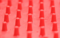 Pegs & Drops Royalty Free Stock Photography