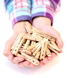 Pegs Stock Images