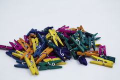 Pegs Royalty Free Stock Photo