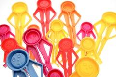 pegs plast- arkivbild