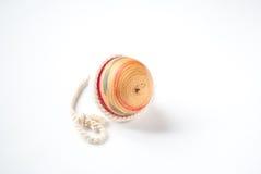 Pegtop en bois Images libres de droits