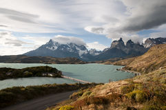 Pehoe Lake - Torres Del Paine National Park - Chile Royalty Free Stock Photos