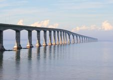 pei γεφυρών Στοκ Εικόνα