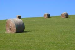 pei 2 haybales Стоковая Фотография RF
