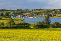 PEI Fishing Village Royalty Free Stock Images