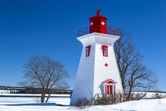 PEI Lighthouse Stock Photo