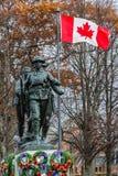 PEI War Memorial Stock Image