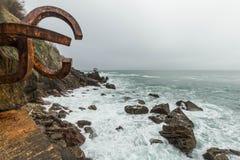 Peignée de la brise marine Photographie stock libre de droits