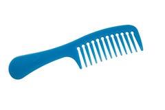 Peigne bleu Image stock