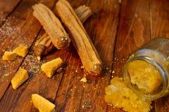 Peigne Churros de miel Photo libre de droits