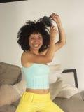 Peigne d'Afro. images stock