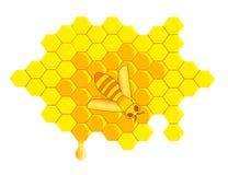 Peigne de miel Images stock