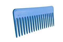 Peigne en plastique de cheveu d'isolement Images stock