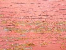 Peignez la couleur sur en bois épluche Images libres de droits