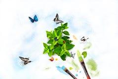 Peignez la nature Photos libres de droits