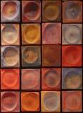 Peignez le détail de couleurs photographie stock libre de droits