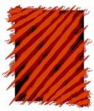 Peignez le fond de pistes rouge illustration de vecteur