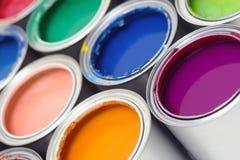 Peignez les bidons Photographie stock