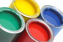 Peignez les bidons Image libre de droits