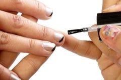 Peignez les clous Photo stock