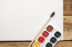 Peignez les seaux et les balayez Photographie stock