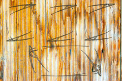 Peignez martelé ensemble clôturent Image libre de droits