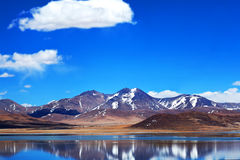 Peiku Tso lake, Tibet Stock Photography