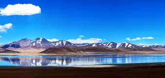 Peiku Tso lake, Tibet Stock Photos