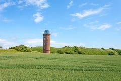 Peilturm Kap Arkona,鲁根岛 免版税图库摄影