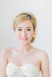 Peinado asiático de la mujer Fotos de archivo libres de regalías