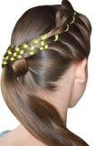 Peinado con el pelo largo Imagenes de archivo