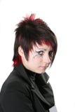 Peinado creativo foto de archivo libre de regalías