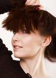 Peinado de la creatividad Imágenes de archivo libres de regalías