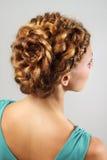 Peinado hermoso Fotografía de archivo libre de regalías